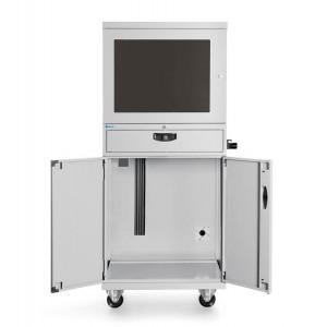 Armadio porta Computer Standard CS, Grigio