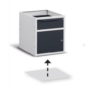 Fondo di chiusura per armadio con larghezza 500 mm