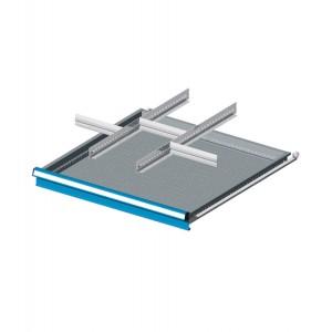 Set divisori metallici per 9 cassetti, Standard