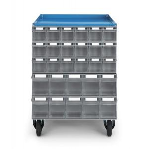 Pannello in lamiera per cassettiere trasparenti Visual Box