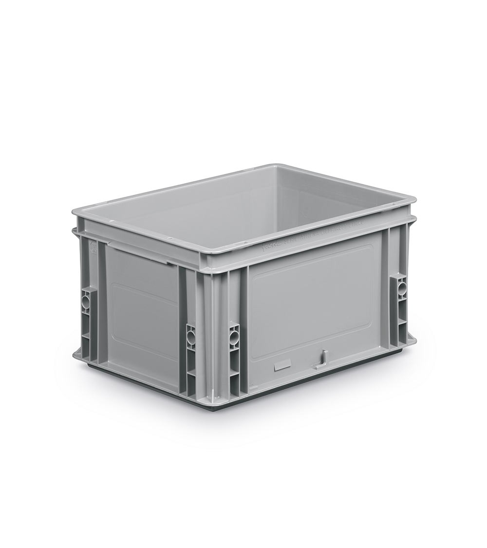 Contenitori Euro chiuso, 40x30x22 cm