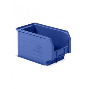 Contenitore a bocca di lupo in PP, capacità 12.5 l, Blu