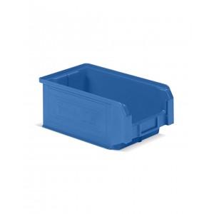 Contenitore a bocca di lupo in PP, capacità 9.4 l, Blu