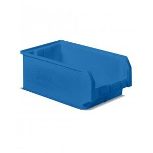 Contenitore a bocca di lupo in PP, capacità 28 l, Blu