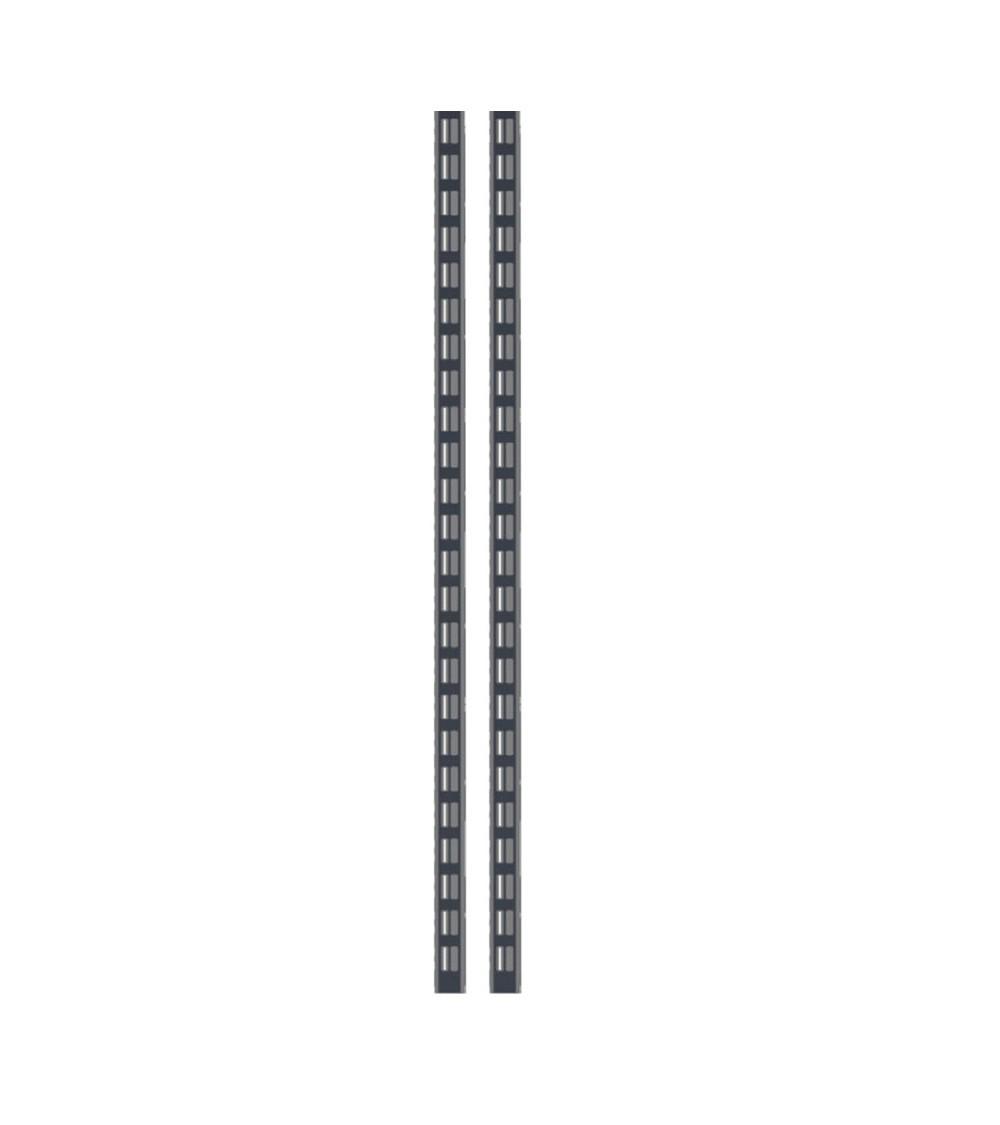 Kit 2 montanti altezza 938 mm, grigio