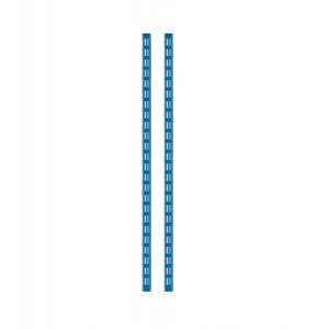 Kit 2 montanti altezza 938 mm, blu
