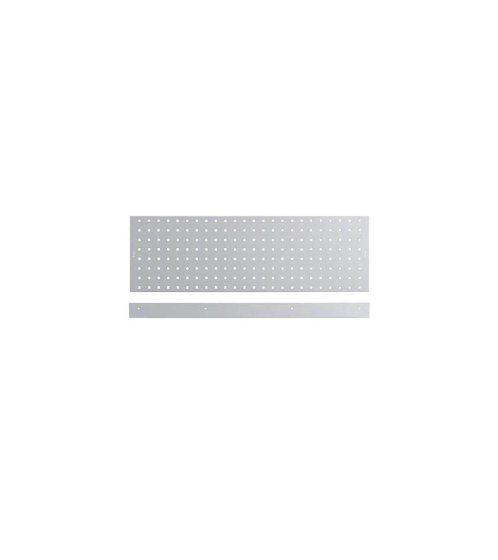 Kit 2 pannelli con un bordo fermacassa, da 953 mm, grigio