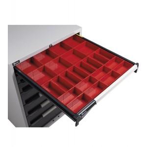 Cassette divisorio, 24 pezzi, 100mm H