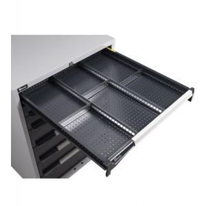 Divisori fessurati per cassetti, 75mm H