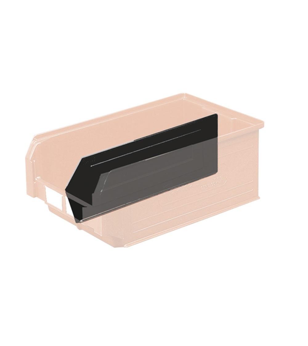 Divisorio per contenitore a bocca di lupo, 30x10.5 cm