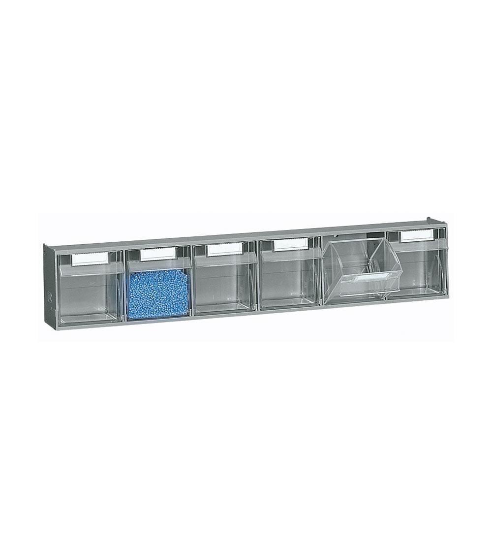 Cassettiera porta minuteria Visual Box, 6 cassetti