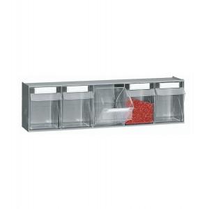 Cassettiera porta minuteria Visual Box, 5 cassetti