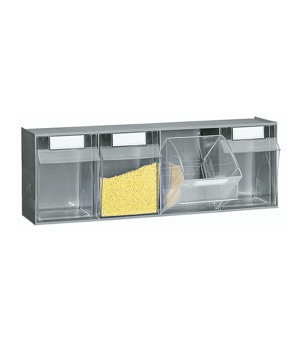 Cassettiera porta minuteria Visual Box, 4 cassetti