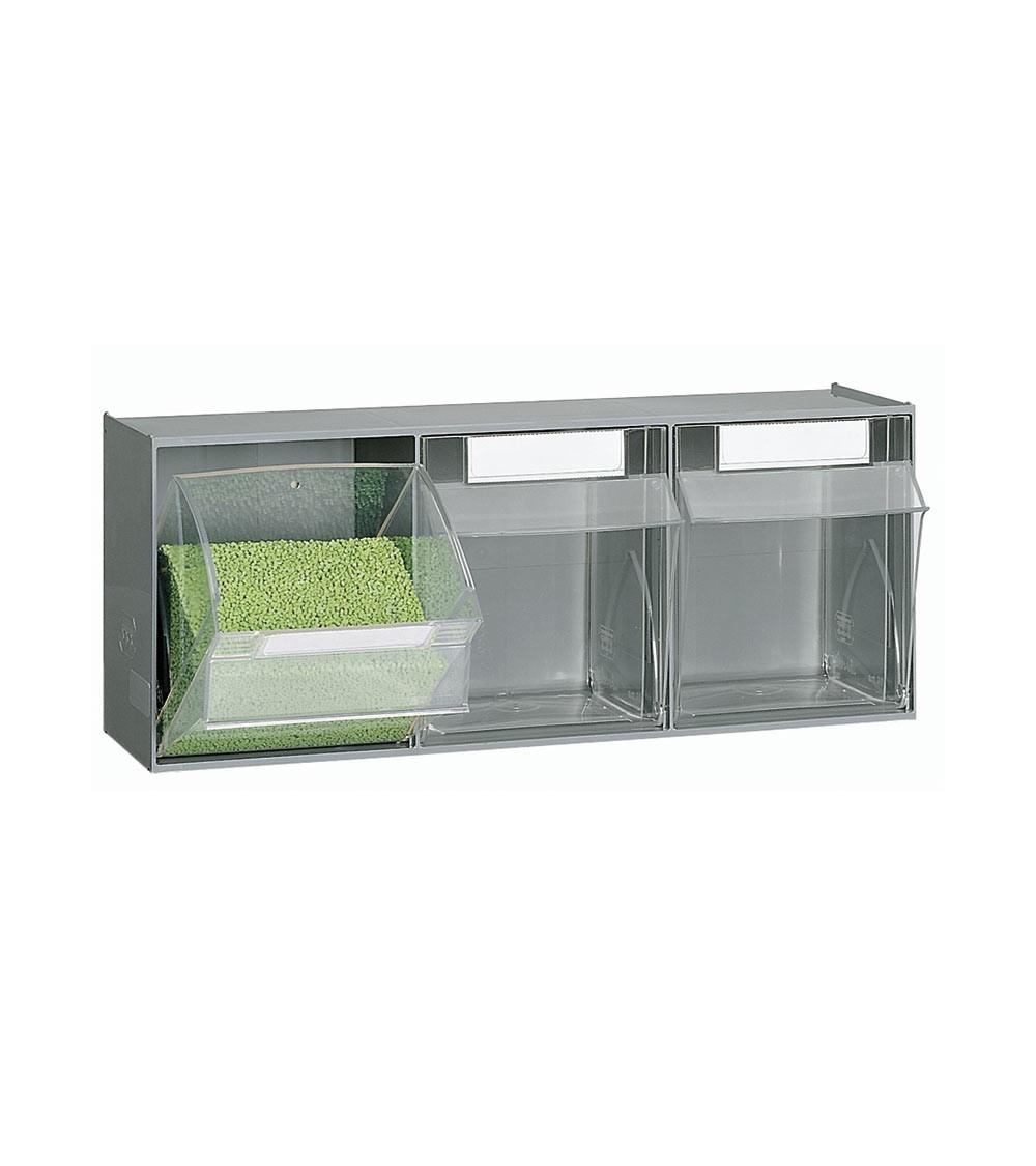 Cassettiera porta minuteria Visual Box, 3 cassetti