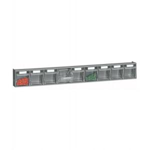 Cassettiera porta minuteria Visual Box, 9 cassetti