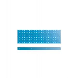 Kit 3 pannelli con due bordi fermacassa da 953 mm, blu