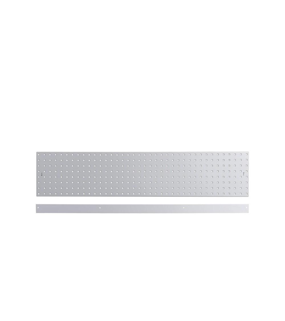 Kit 2 pannelli con un bordo fermacassa, da 1440 mm, grigio