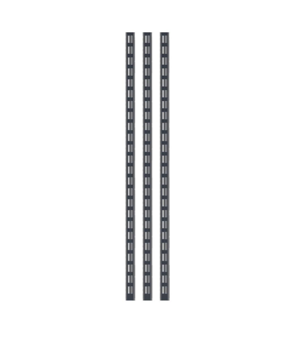 Kit 3 montanti altezza 938 mm, grigio