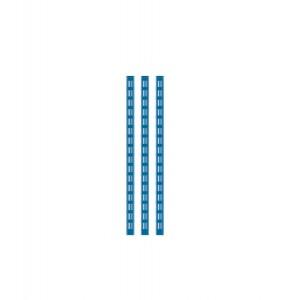 Kit 3 montanti altezza 634 mm, blu