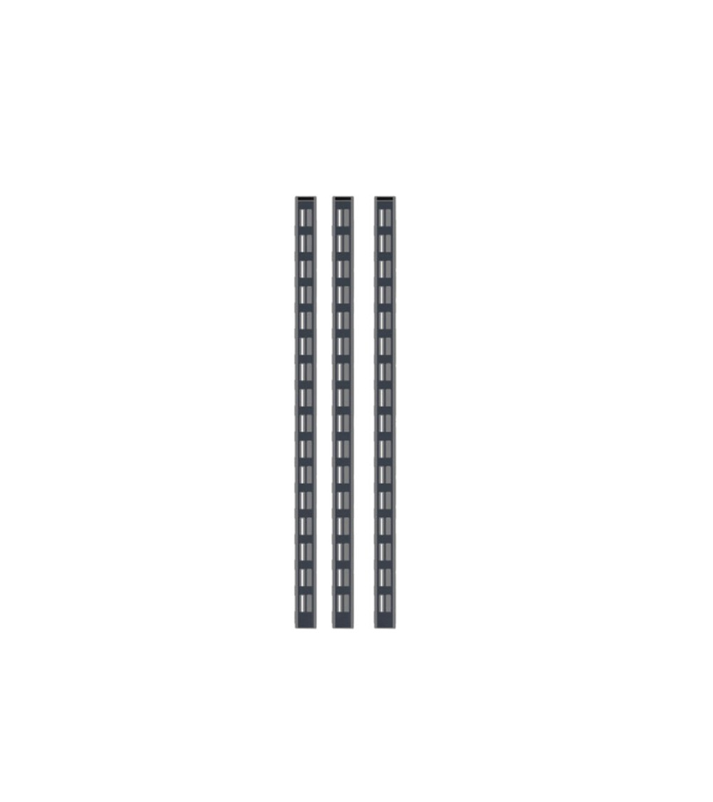 Kit 3 montanti altezza 634 mm, grigio
