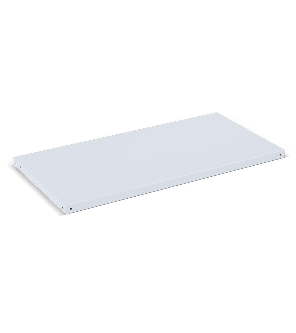 Piano aggiuntivo per banchi Work, 1260x600x35 mm, grigio