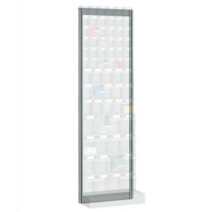 Scaffale portaminuterie da parete Visual Box, 1500mm H