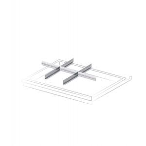 Divisori per cassetti con altezza frontale 75 mm