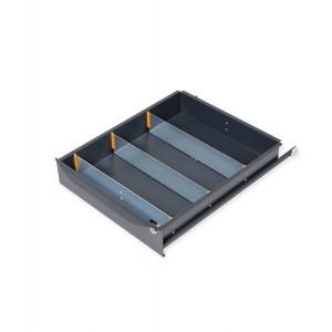 Divisori per cassetti (L 500) con altezza frontale 105-150 mm
