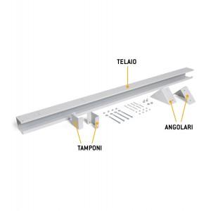 Telaio porta prese aggiuntivo per banco Dynamic L 1000 mm
