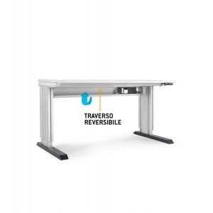 Banco base Dynamic regolabile elettricamente in altezza lunghezza 1000 mm