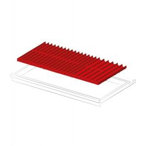 Set materiale di separazione per altezza frontale 50-300 mm
