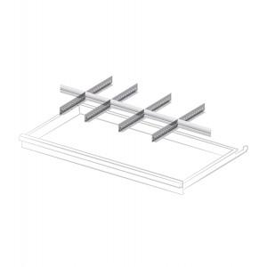 Set materiale di separazione per altezza frontale 100 mm