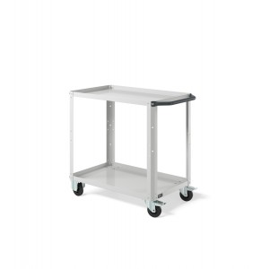 Carrello Clever Small CLEVER0903, colore grigio RAL 7035