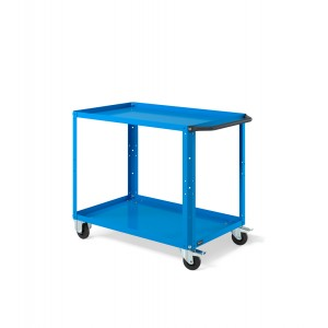 Carrello Clever Large CLEVER1004, colore blu RAL 5012
