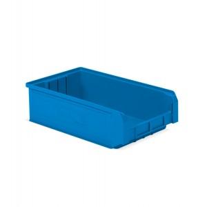 Contenitore a bocca di lupo in PP, capacità 20 l colore blu