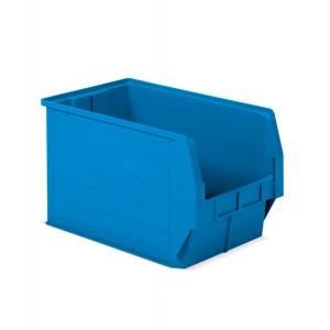 Contenitore a bocca di lupo in PP, capacità 42 l, colore blu