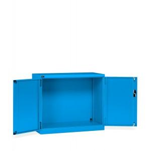 Armadio con ante a battente 64x27 EH, colore grigio blu RAL 5012