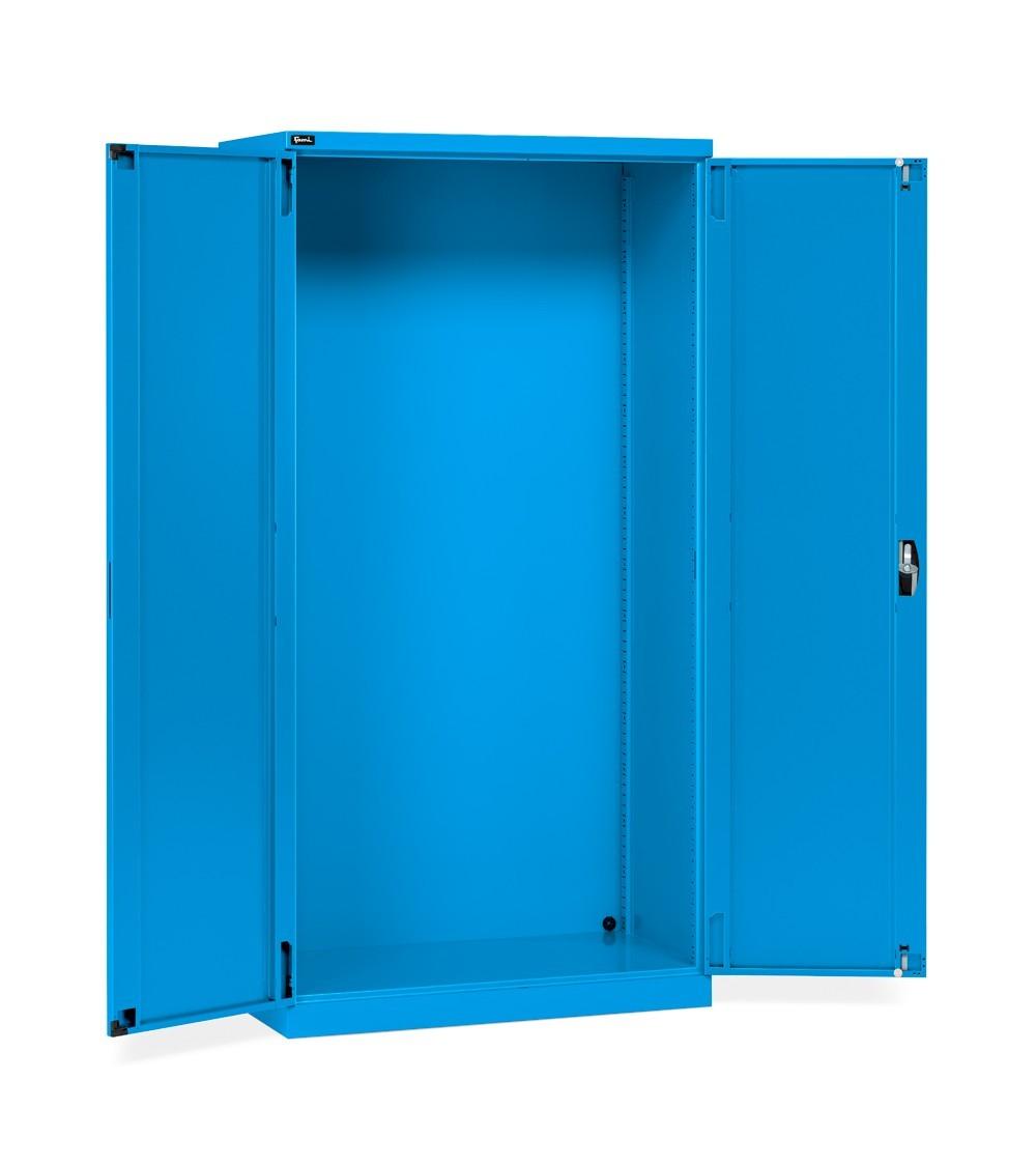 Armadio con ante a battente 54x27 EH, colore blu RAL 5012