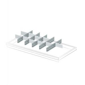 Divisori per cassetti con altezza frontale 100 mm