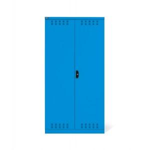 Armadio con ante a battente fessurate 54x27 EH, PERFOM14031, colore blu