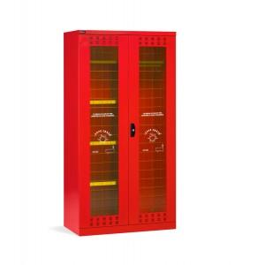 Armadio di sicurezza DPI e attrezzature antincendio 54x27 EH, PERFOM14033, colore rosso