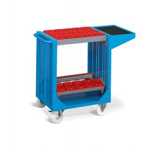 Carrello serie Combi NC, COMBINC04, colore blu RAL 5012